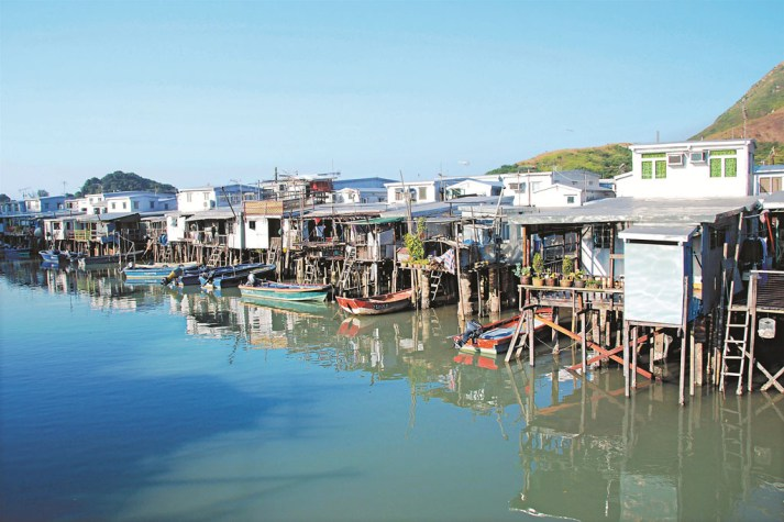 Tai O Fishing Village, Lantau Island Hong Kong