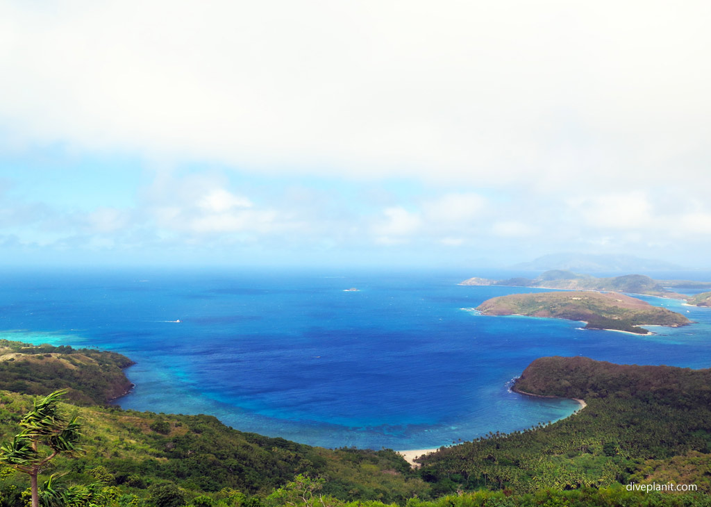 walking the ridge of Naviti Island, yasawa Islands, Fiji