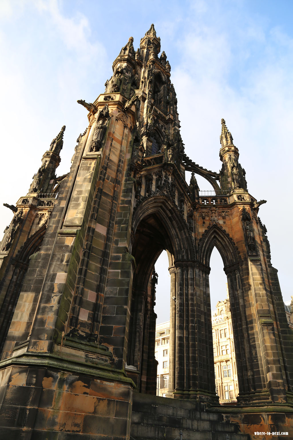 6442 Edinburgh Walter Scott Monument