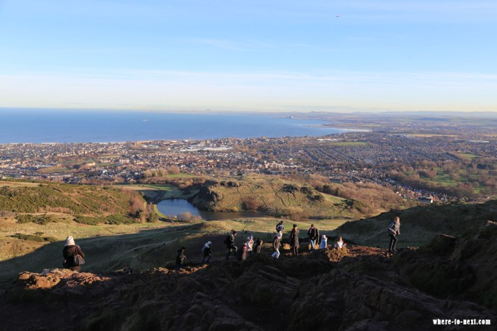 6871 Edinburgh view from Arthurs Seat