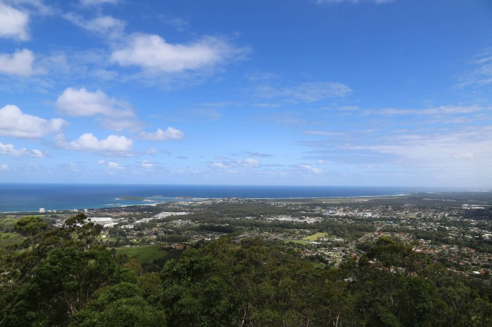 Sealy Lookout Bruxner Park Coffs Harbour