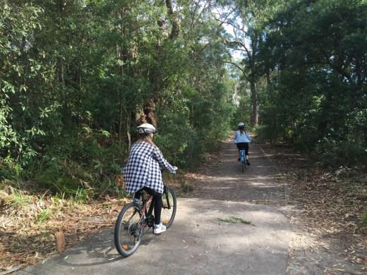 Port Stephens cycling