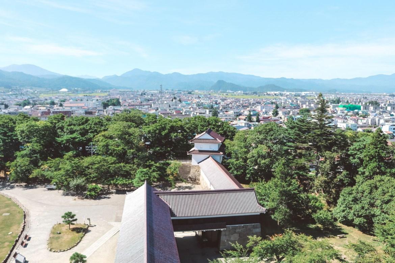 Fukushima castle view_6183