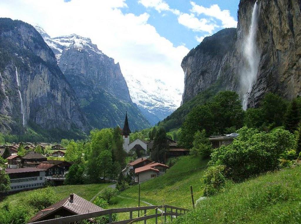 Falls Wallpaper Waterfall Lovely Lauterbrunnen And Trummelbach Falls Where Are Sue