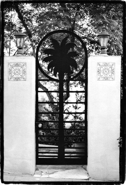 Gates in the hollywood hills