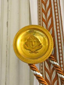Drapery Tassel Medallion