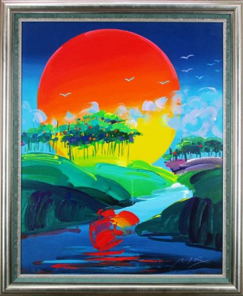 Peter Max, Lot 161,  Clark Cierlak Fine Arts Estate Auction Service