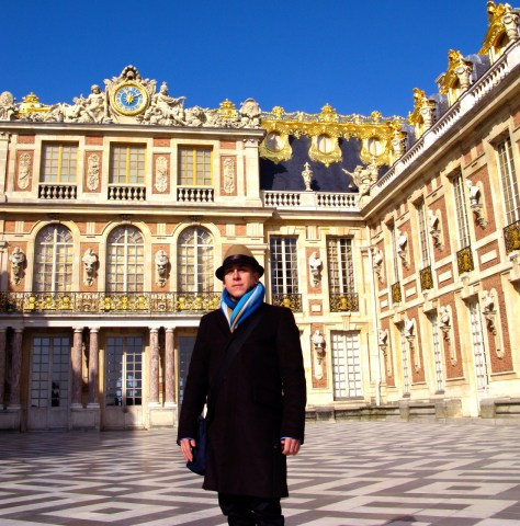 Courtyard at Palace of Versailles, Photo T. Zeleny