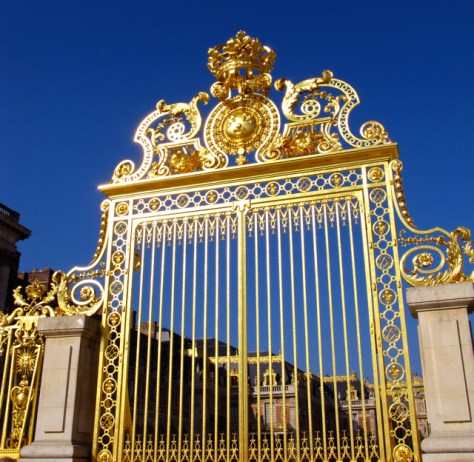 Palace of Versailles, Gate Detail, Photo Romi Cortier