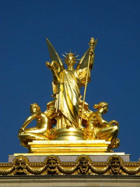 Paris Opera House Detail, Photo Romi Cortier