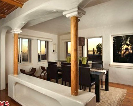Dining Room at 2700 Glendower, Image courtesy MLS 2010