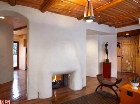 Fireplace at 2700 Glendower, Image courtesy MLS 2010
