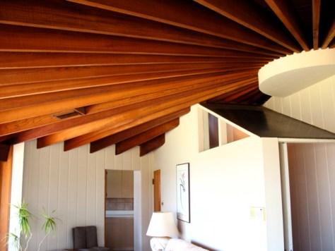 John Lautner's Silvertop Residence, Lower Level Studio, Photo Romi Cortier