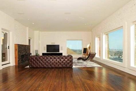 Upstairs Living Room at 2700 Glendower,  Photo Courtesy MLS 2014