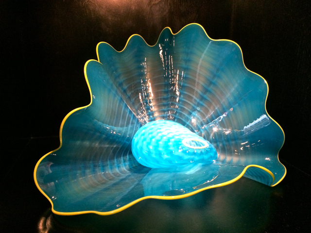chihuly glass gallery row at aria las vegas photo romi cortier
