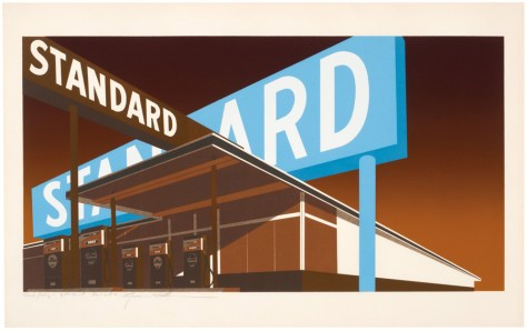 Lot 75, Double Standard, Ed Ruscha, 1969, Image Courtesy Los Angeles Modern Auctions