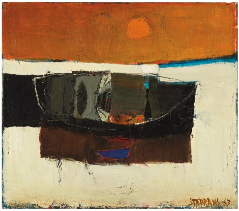Lot 524, Untitled (Boat) Raimonds Staprans, 1963, Image Courtesy Los Angeles Modern Auctions