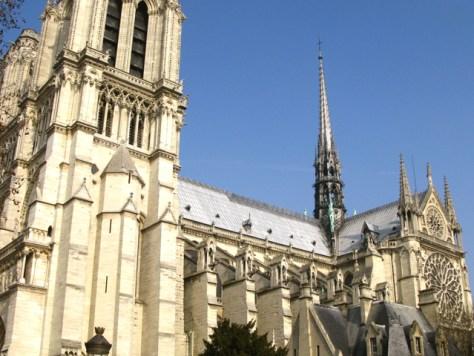 Rose South Window, Exterior, Notre Dame, Paris, Photo Romi Cortier