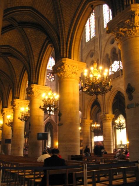 Notre Dame Interior, Paris, Photo Romi Cortier