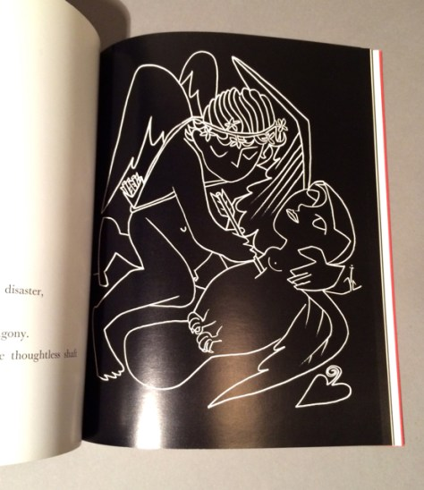 Interior page of Paloma - Sphynx by Francoise Gilot, Collection of Romi Cortier