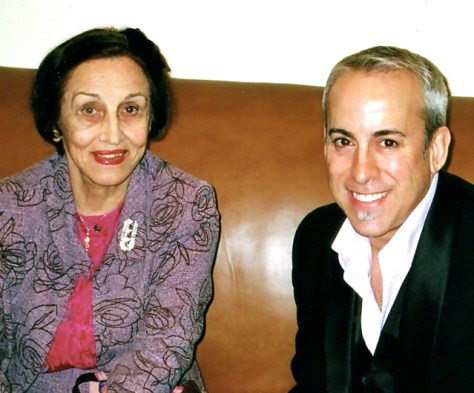 Francoise Gilot and Romi Cortier, Elkon Gallery NYC, October 2006