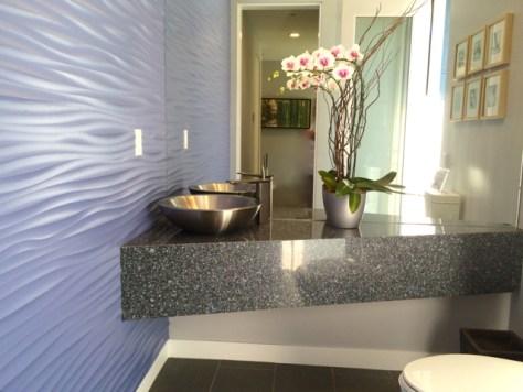 Guest Bathroom, Sol 2, Palm Springs, Photo Romi Cortier