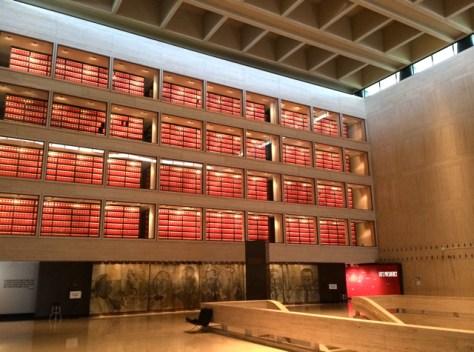 Lyndon Baines Johnson Presidential Library, Austin, Texas, Photo Romi Cortier