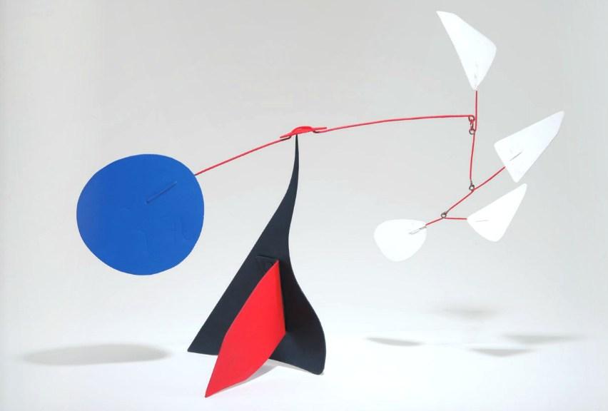 Alexander Calder, Quatre Blancs, LAMA, Lot 167