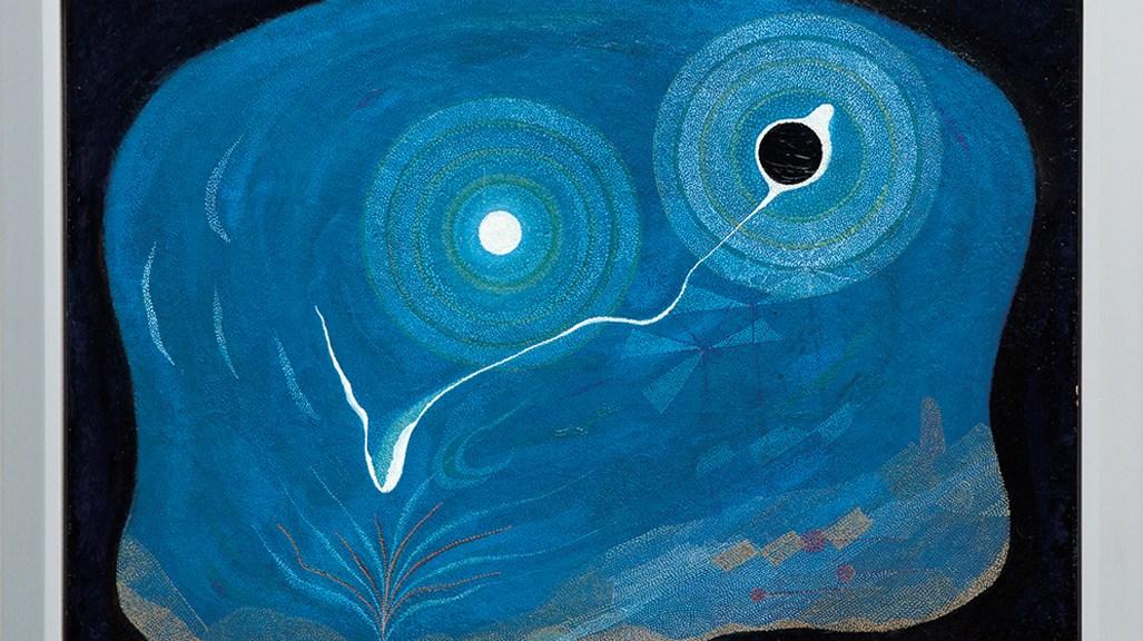 Lot 45, Oskar Fischinger, Stippled Cosmic, $5,000 - $7,000, Image Courtesy LAMA
