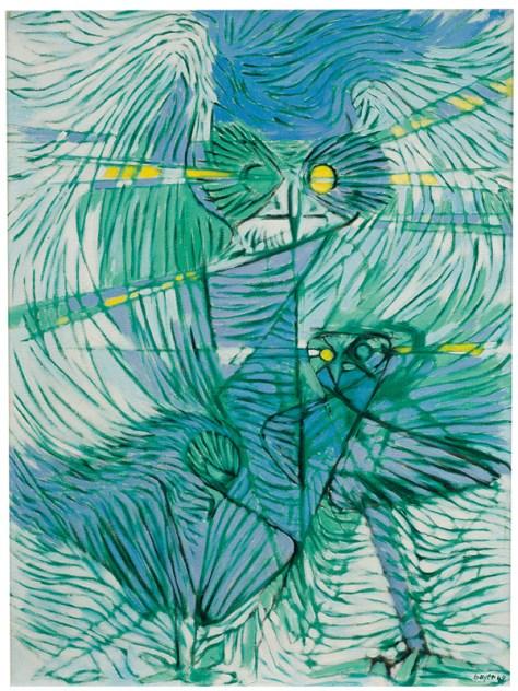 Lot 50, Herbert Bayer, Owl People, $4,000 - $6,000, Image Courtesy LAMA