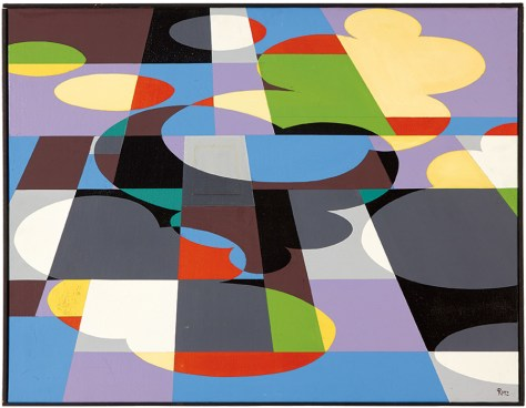 Lot 111, Roland Petersen, Fall Cloud Shadow and Fields, $15,000 - $20,000, Image Courtesy LAMA