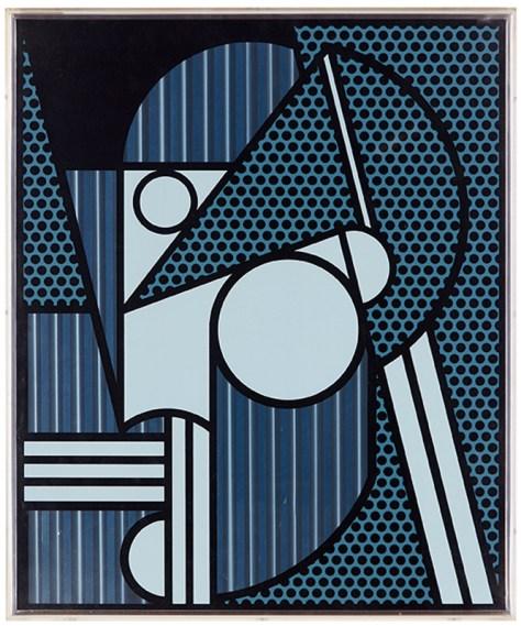 Lot 311, Roy Lichtenstein, Modern Head #4, (From Modern Head Series) $15,000 - $20,000, Image Courtesy LAMA