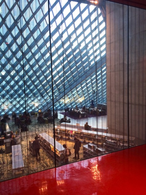The Seattle Public Library, Photo Romi Cortier