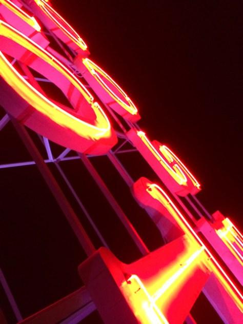 Roosevelt Hotel Sign, Hollwyood, Ca. Photo Romi Cortier