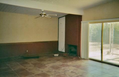 203 N. Monterey Road, living room pre-renovation