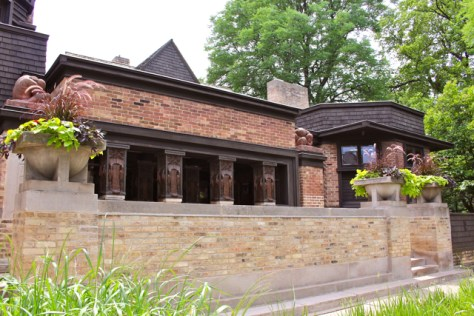 Frank Lloyd Wright Home and Studio, Oak Park, Illinois, Photo Romi Cortier