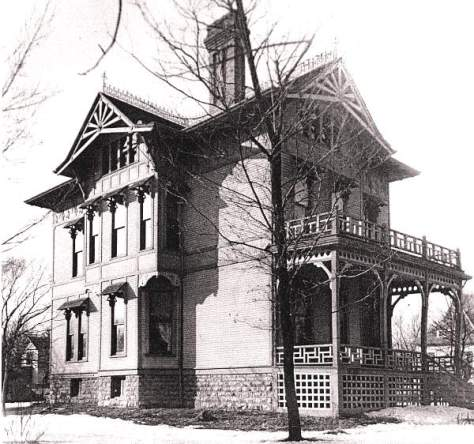 The Gray House by Charles C. Miller, Photo courtesy of the Northwest Architect Archives at the University of Minnesota Libraries in Minneapolis.