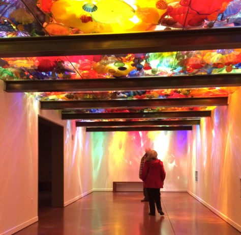 Chihuly Garden and Glass Museum, Seattle, Photo Romi Cortier