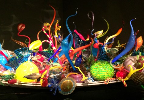 Chihuly Garden and Glass Museum, Seattle, Wa., Photo Romi Cortier