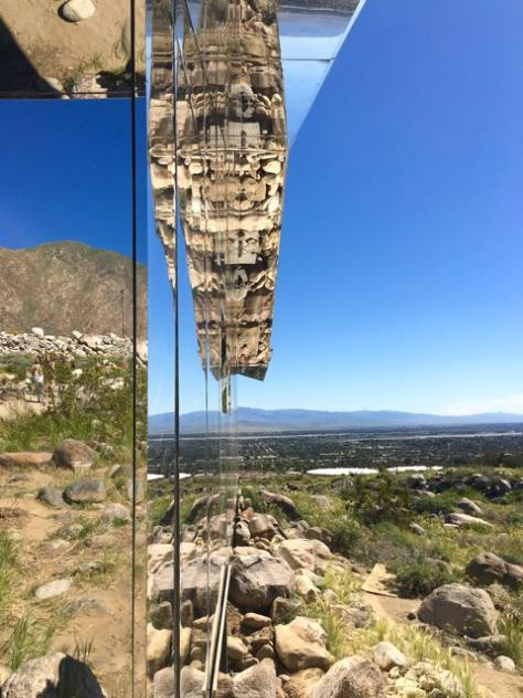 MIRAGE, by Doug Aitken, Palm Springs, Ca. Photo Romi Cortier