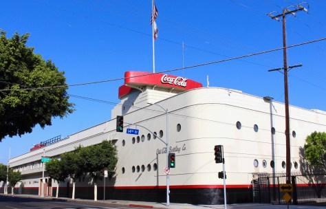 Coca Cola Building, Los Angeles, Ca. Photo Romi Cortier