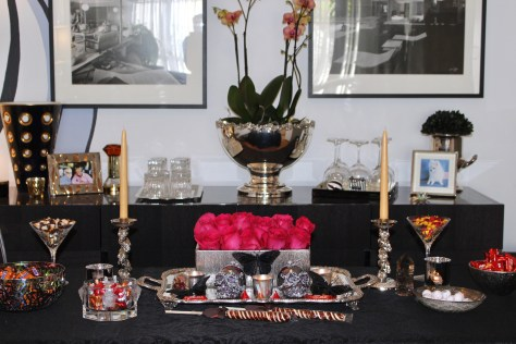 Halloween Table Ensemble, Artful Living with Romi Cortier, Photo Romi Cortier