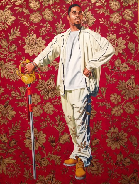Starlit Nights, Kehinde Wiley, Oil on Canvas, 2013