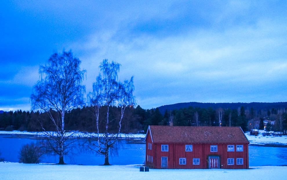 Norway's Blue Hour
