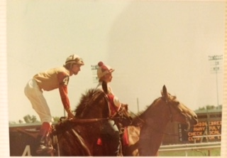 Clint Goodrich - Arlington Park 1978