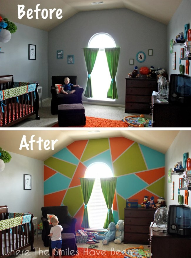 guess Photoshop helps you more with the designing of your accent wall ...