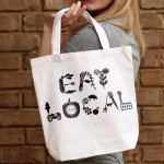 DIY Farmers' Market Tote Bag: Eat Local!
