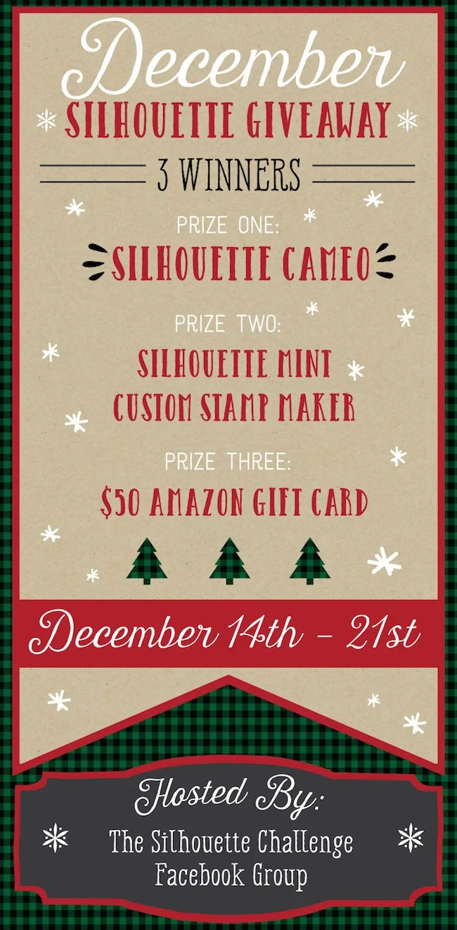 Silhouette Giveaway! Three Awesome Prizes for Three Winners!