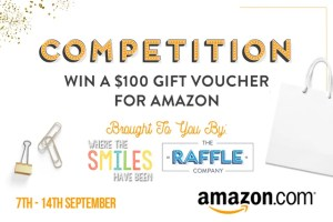 Enter to win a $100 gift card to Amazon! Brought to you by Where The Smiles Have Been & The Raffle Co.!