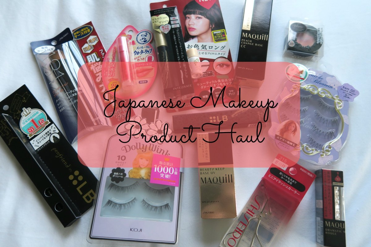 Japanese Makeup Product Haul